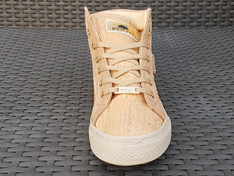 Damen Kork High Sneaker